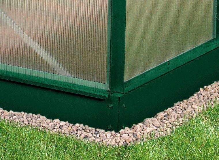 Fundamentrahmen »5000«, BxT: 192x254 cm, dunkelgrün in grün