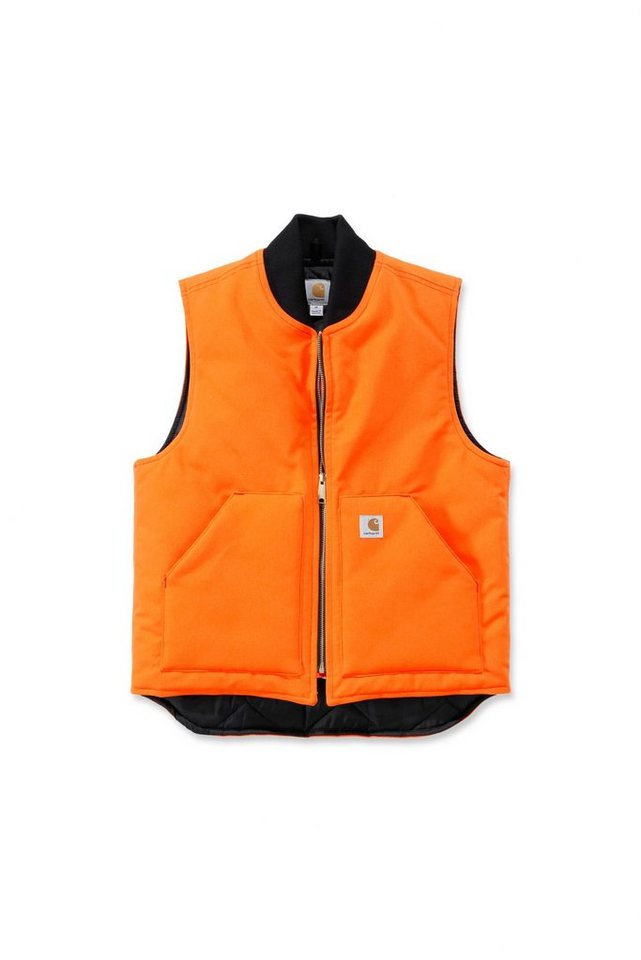 Carhartt Workwear Arbeitsweste »V01« in orange