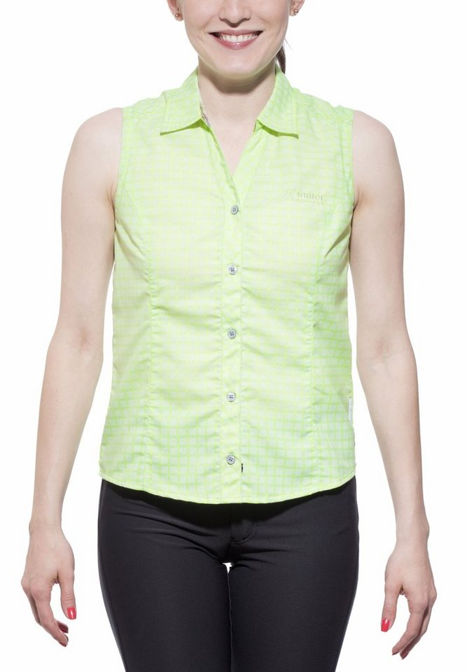 Maier Sports Bluse »Agnes Women« in grün