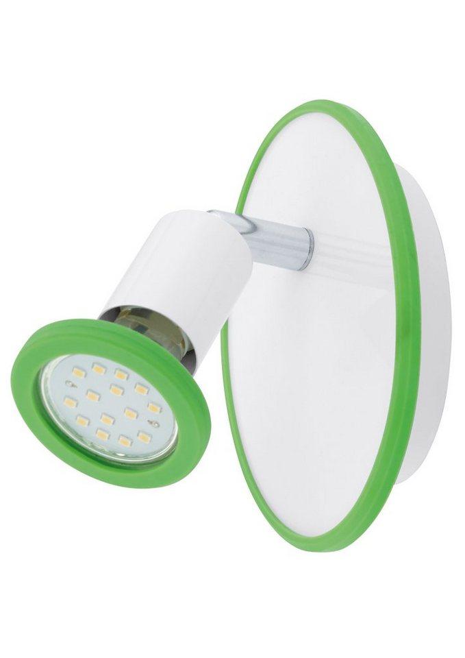 Wandleuchte, 1flammig, inkl. LED in chromfarben