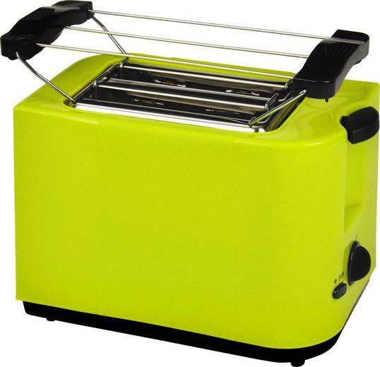 Efbe-Schott Toaster SC TO 5000, 2 kurze Schlitze, für 2 Scheiben, 700 W