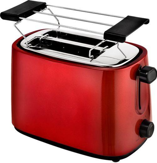 Efbe-Schott Toaster SC TO 1060 R, 2 kurze Schlitze, für 2 Scheiben, 750 W