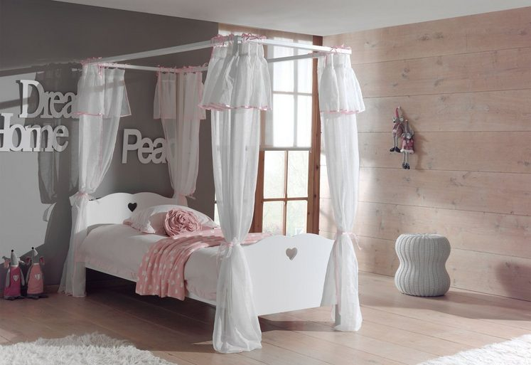 vipack furniture himmelbett amori online kaufen otto. Black Bedroom Furniture Sets. Home Design Ideas