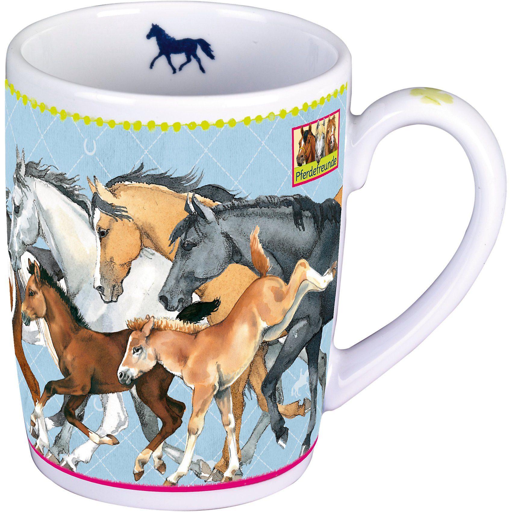 Spiegelburg Porzellan-Tasse Pferdefreunde