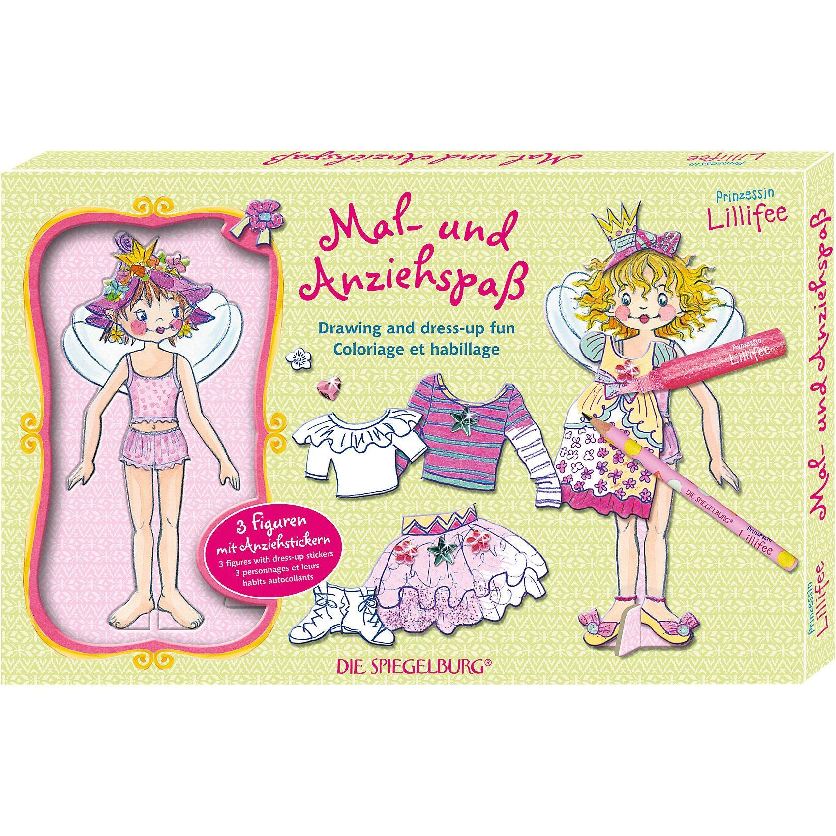 Spiegelburg Mal- und Anziehspaß Prinzessin Lillifee