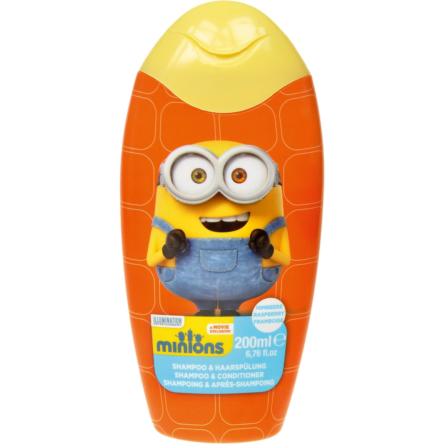 Shampoo & Conditioner 2 in 1, Minions, 200 ml