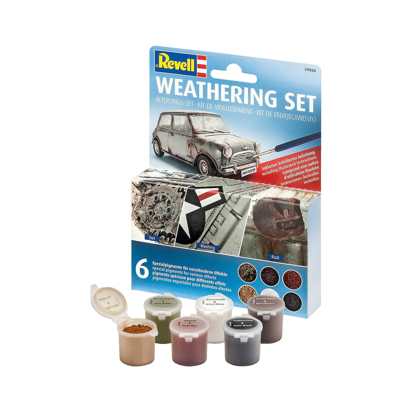Revell Modellbausatz - Weathering Set (6 Pigmente)