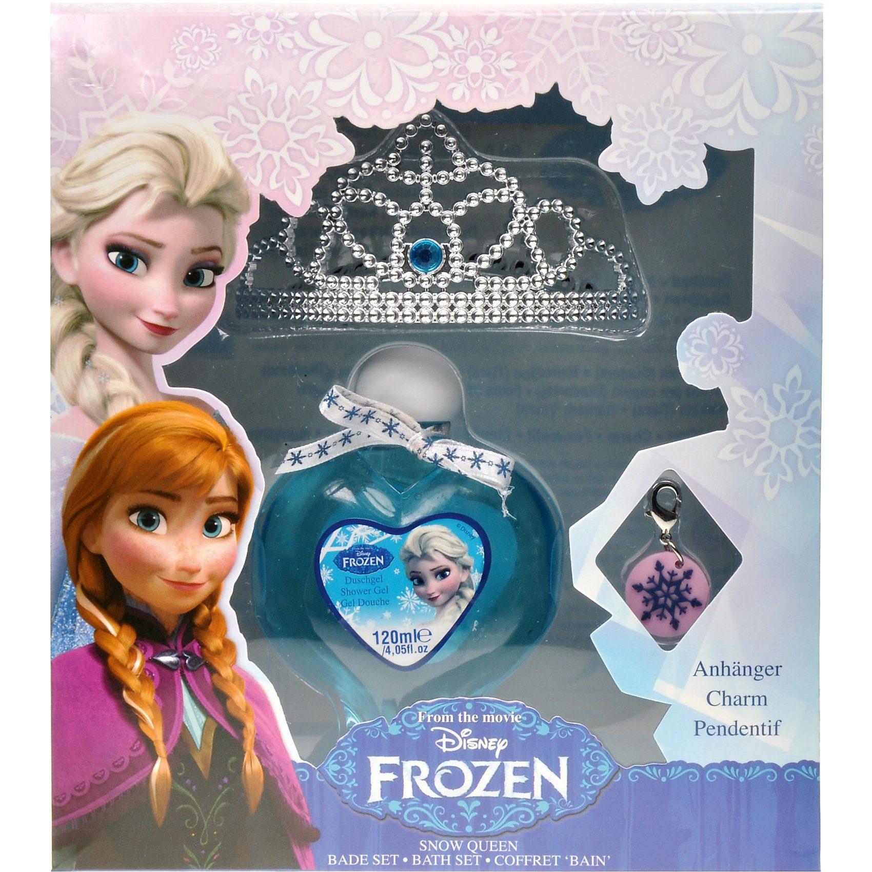 Geschenkset mit Haarspange & Anhänger, Die Eiskönigin