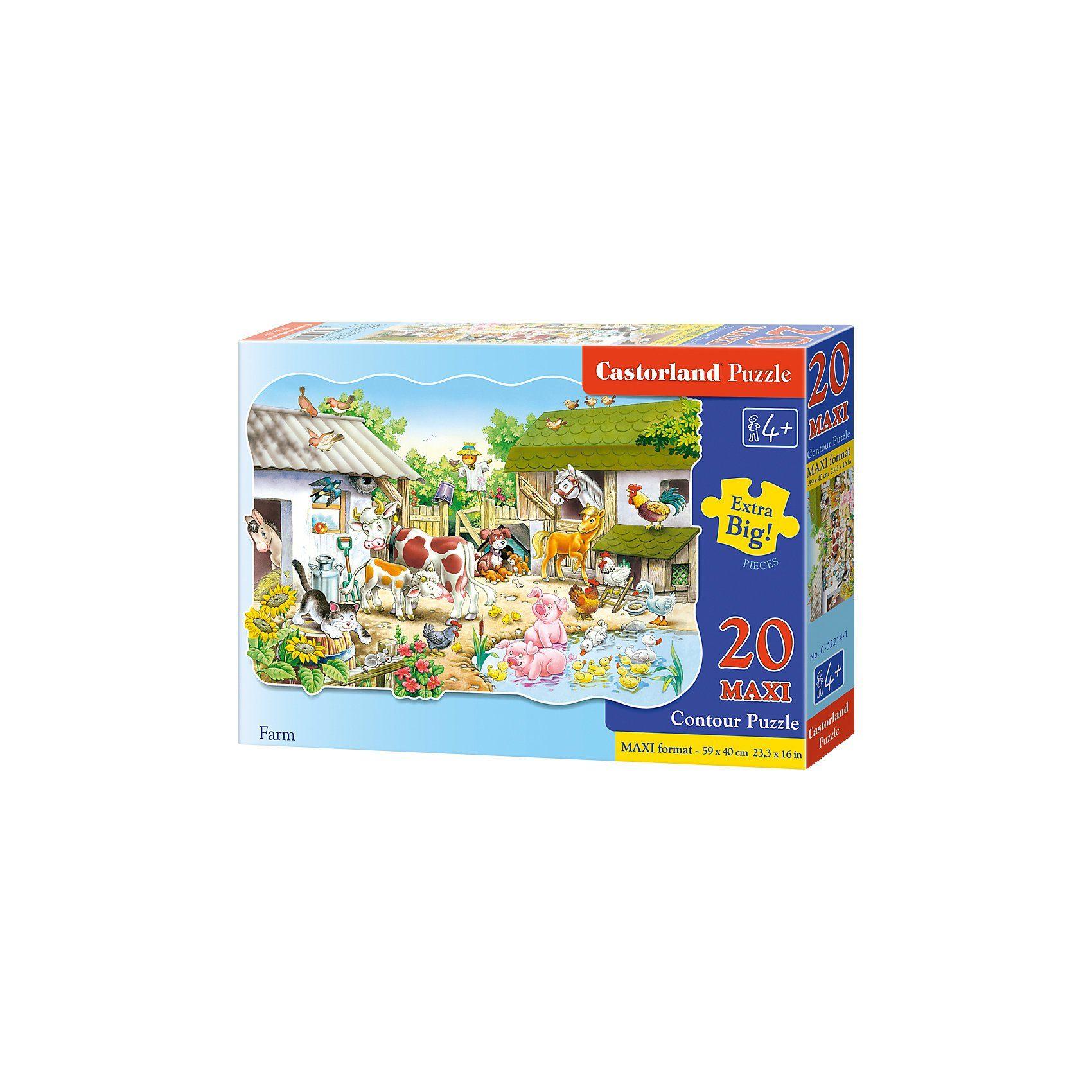 Castorland Bodenpuzzle 20 Teile Maxi - Bauernhof