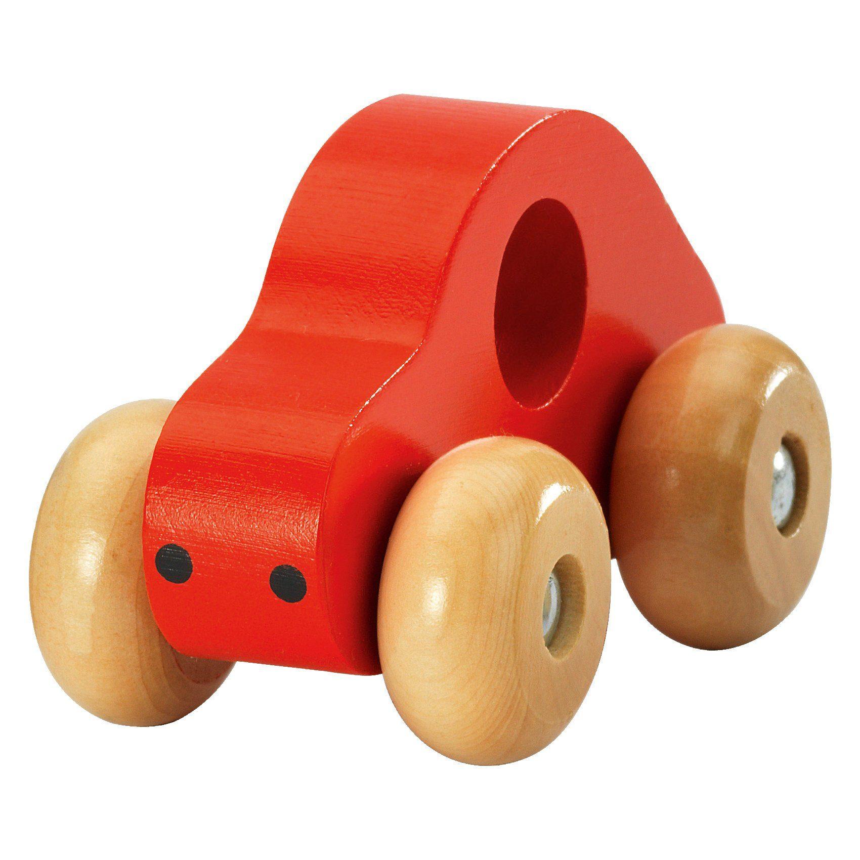fashy Holz-Auto, rot