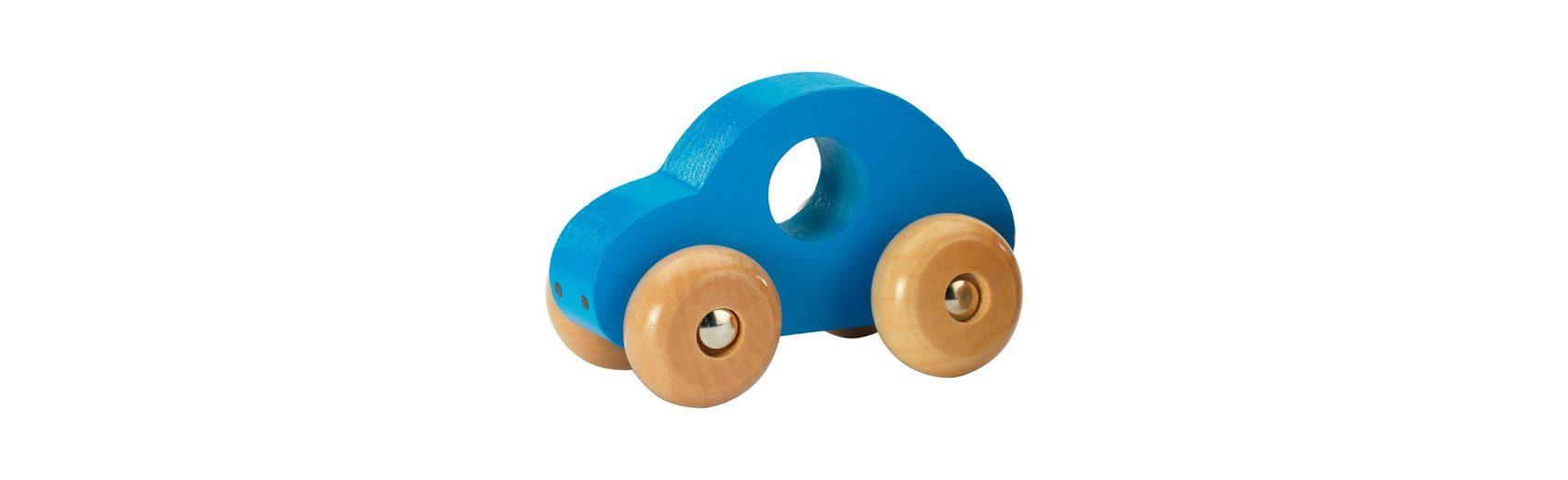 fashy Holz-Auto, blau