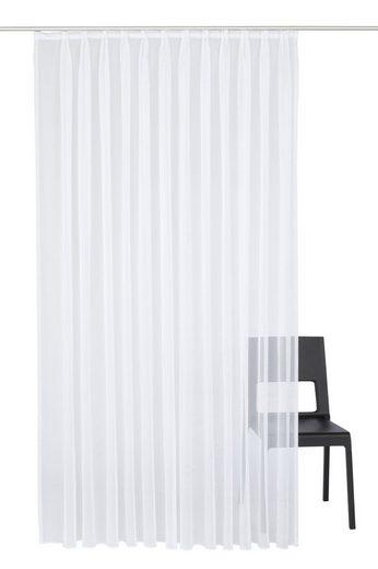 Vorhang »Bettina«, Wirth, Faltenband (1 Stück), Store