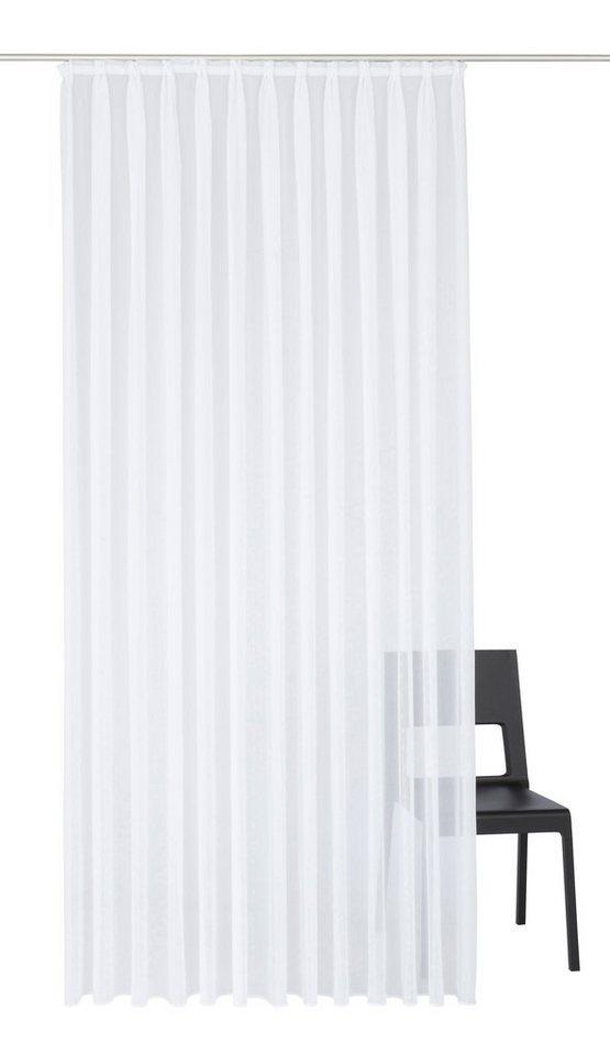 Vorhang, Wirth, »CHARLOTTE«, mit Faltenband (1 Stück) in weiß