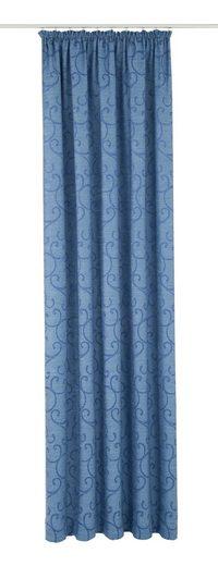 Vorhang »Toco-Ranke«, Wirth, Kräuselband (1 Stück)