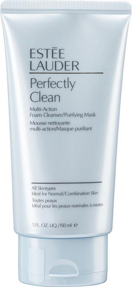 Estée Lauder, »Perfectly Clean Multi-Action«, Reinigungsschaum und Maske