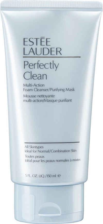ESTÉE LAUDER Gesichts-Reinigungsschaum »Perfectly Clean Multi-Action«, und Maske