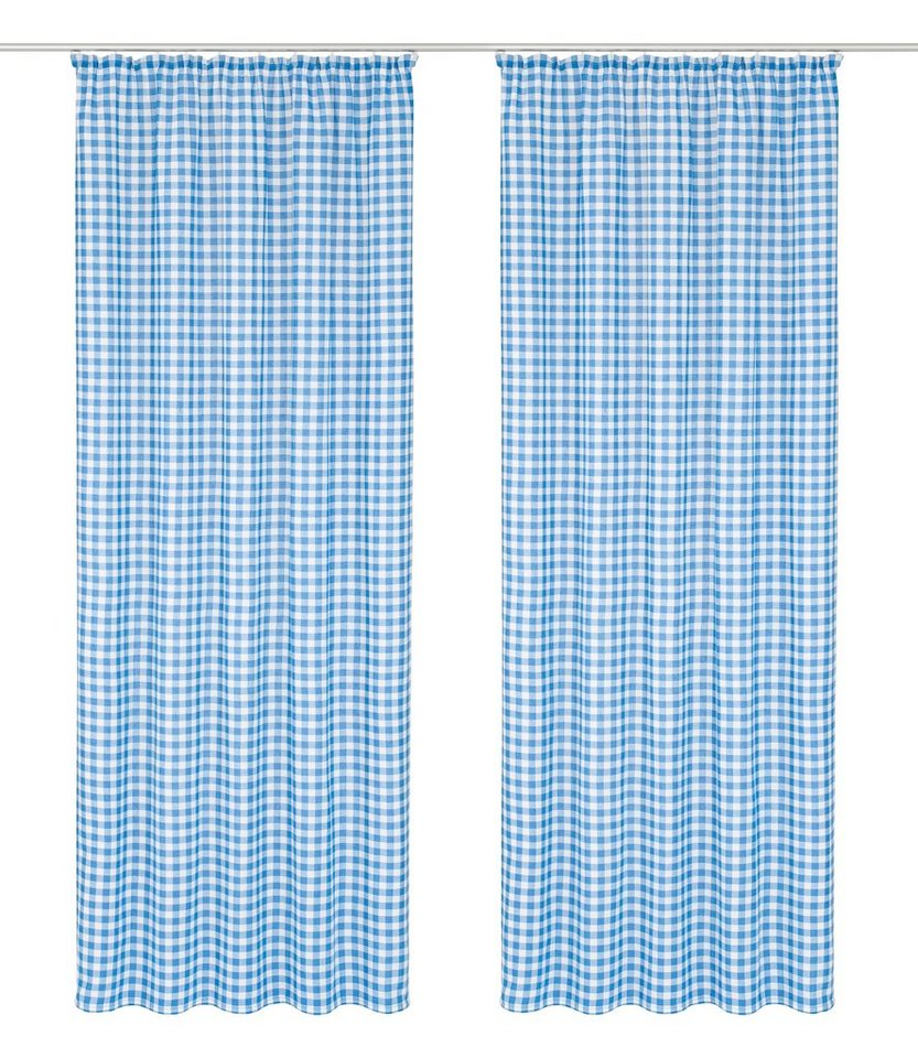 Vorhang »Finja«, Wirth, Kräuselband (2 Stück) | OTTO