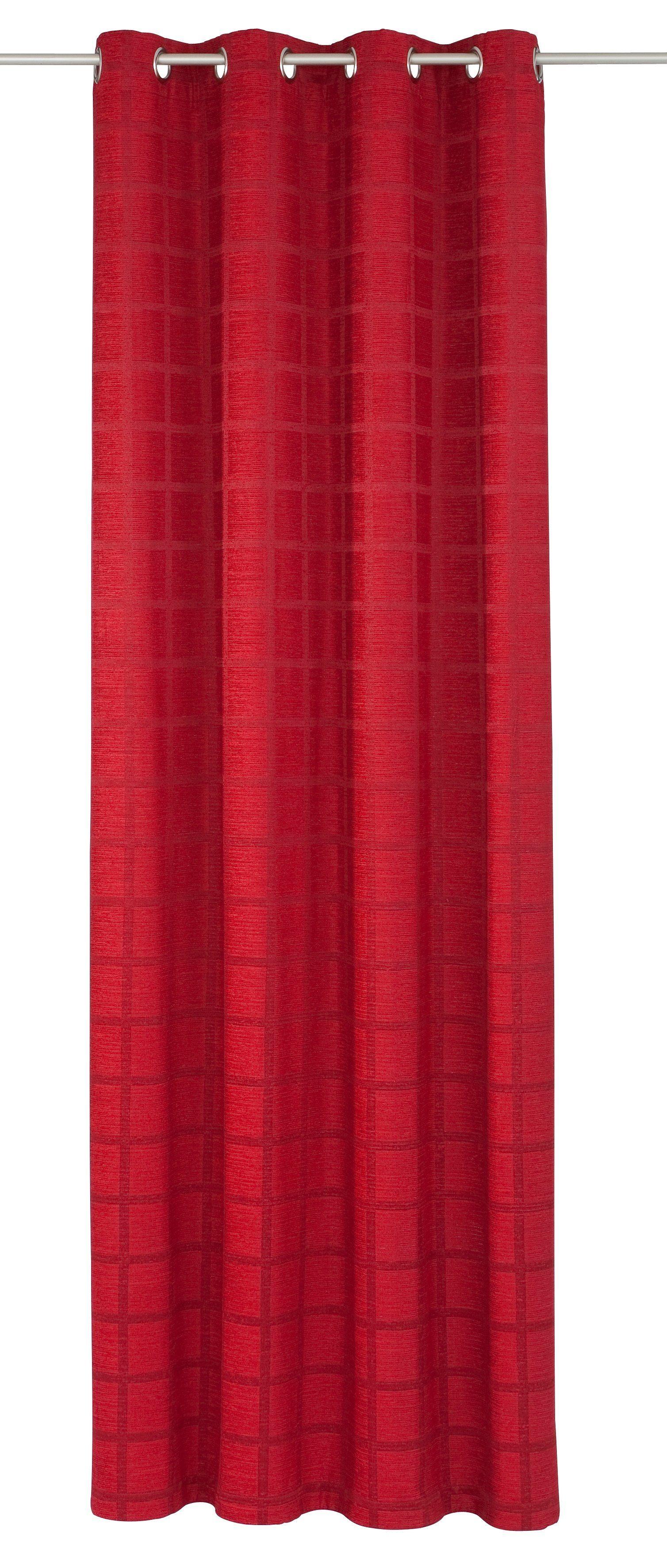 Vorhang »Toco-Karo«, Wirth, Ösen (1 Stück)