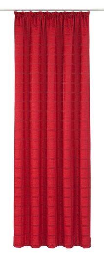 Vorhang »Toco-Karo«, Wirth, Kräuselband (1 Stück)