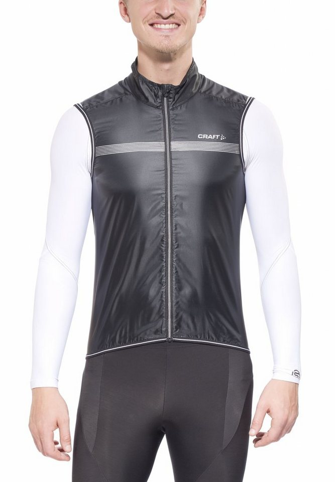 Craft Weste »Featherlight Vest Men« in schwarz