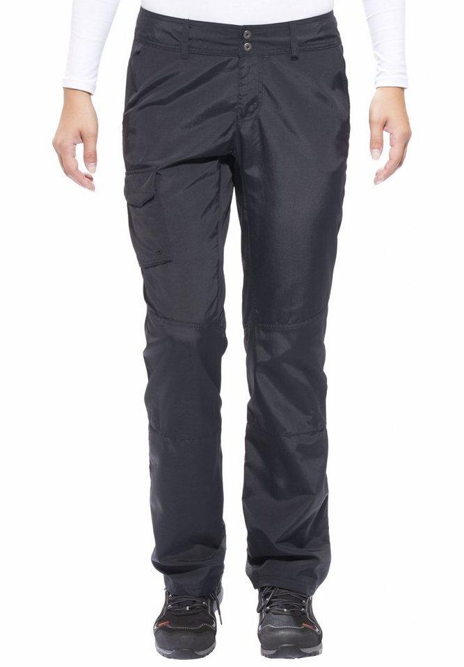 Columbia Outdoorhose »Silver Ridge Pant regular Women black« in schwarz