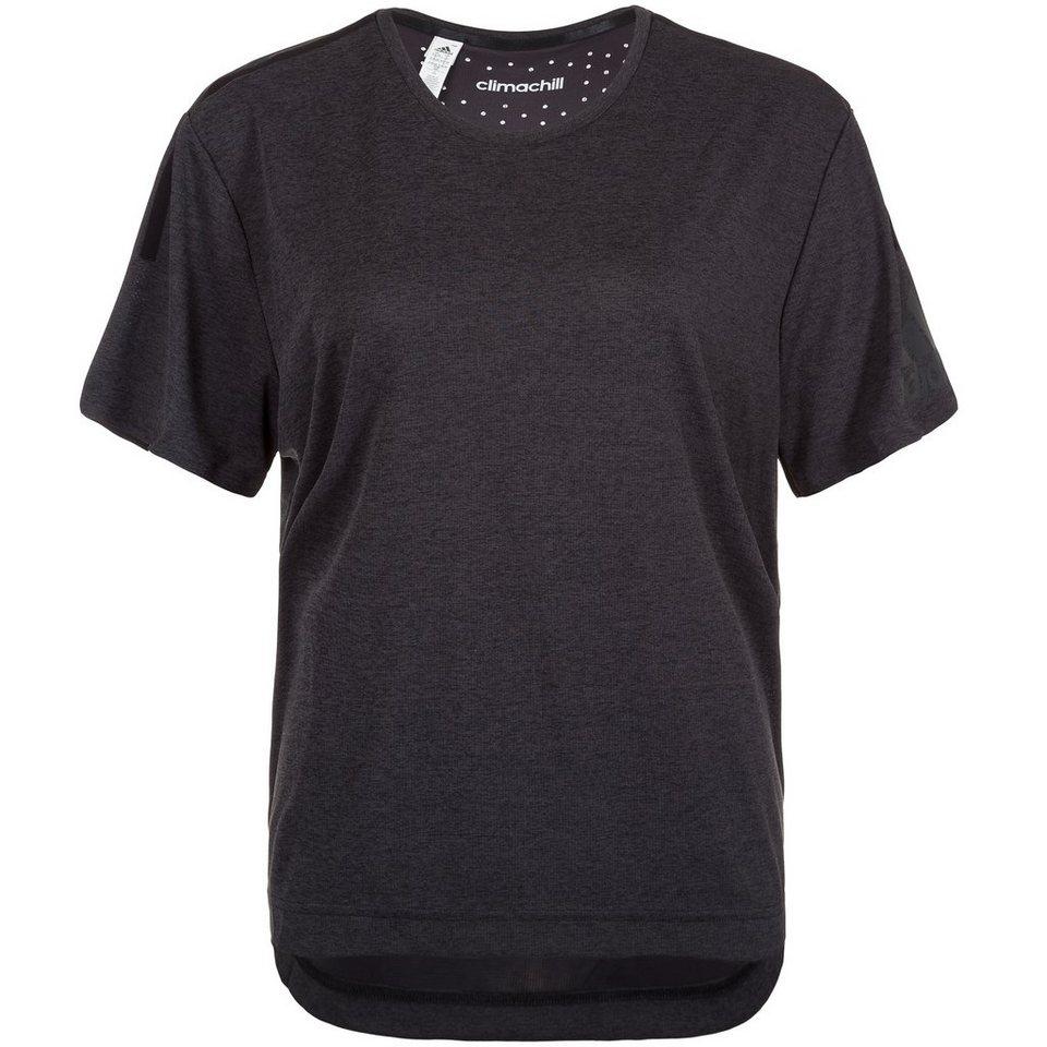 adidas Performance Standard 19 ClimaChill Trainingsshirt Damen in schwarz / grau