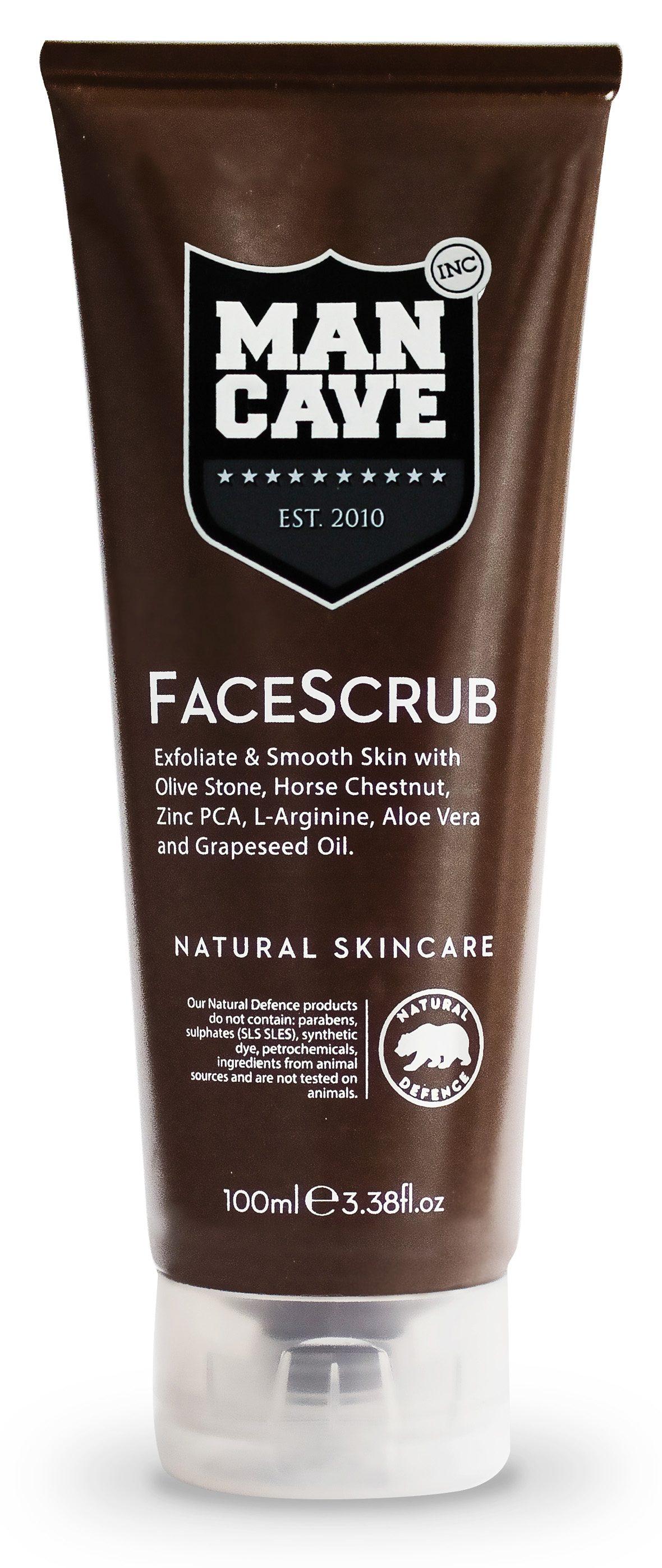 ManCave, »FaceScrub«, Gesichtspeeling für Männer