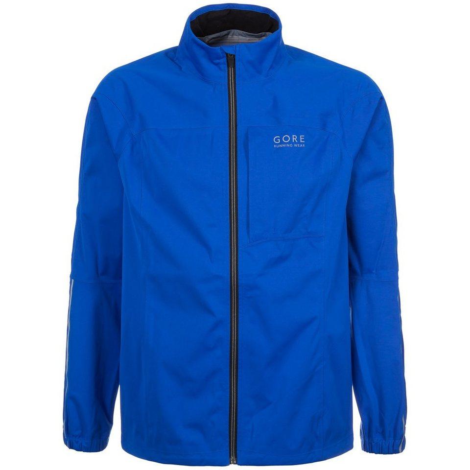 GORE Essential GORE-TEX® Active Shell Laufjacke Herren in blau
