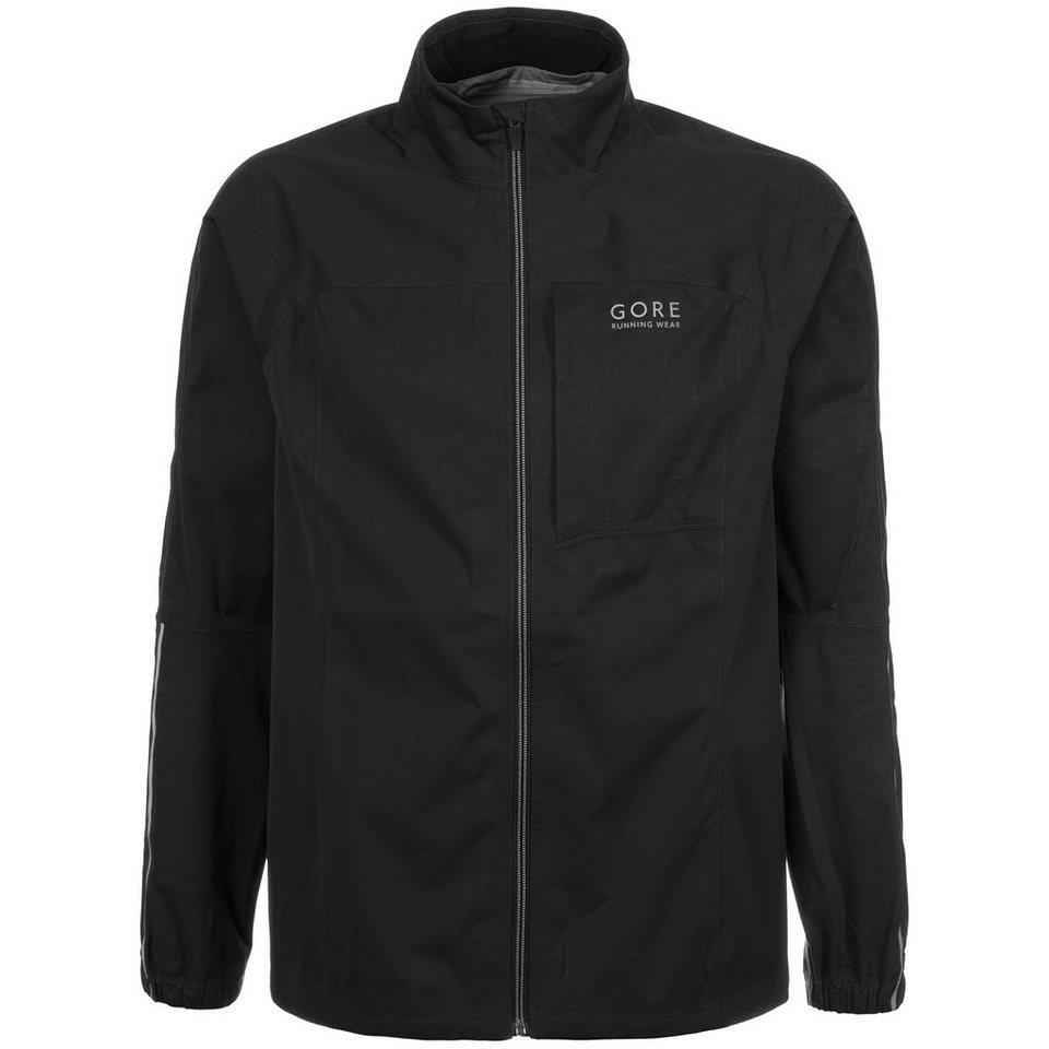 GORE Essential GORE-TEX® Active Shell Laufjacke Herren in schwarz