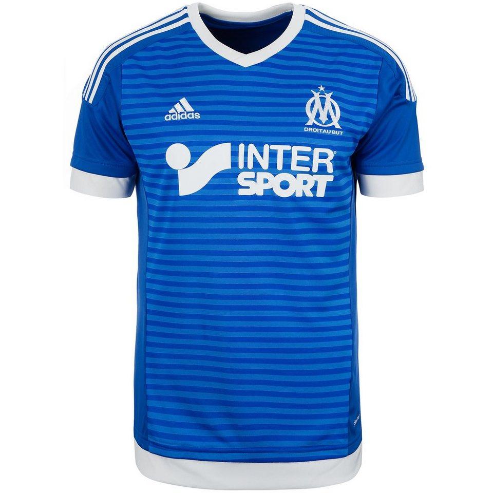 adidas Performance Olympique Marseille Trikot 3rd 2015/2016 Herren in blau / weiß