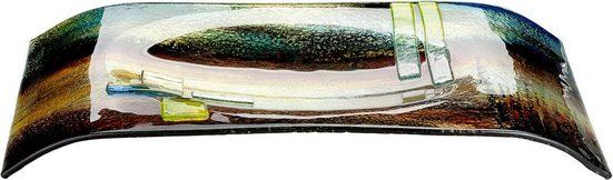 GILDE GLAS art Dekoschale »Schale Campo, rechteckig« (1 Stück), aus Glas, mundgeblasen, Wohnzimmer