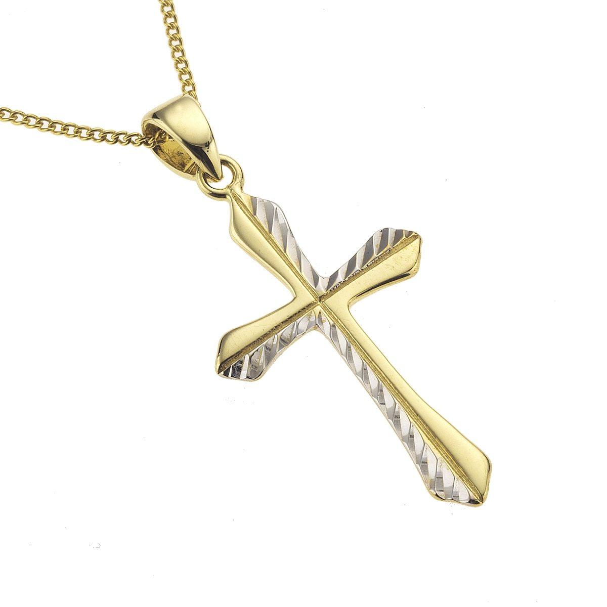 Zeeme Anhänger mit Kette »333/- Gelbgold diamantiert«