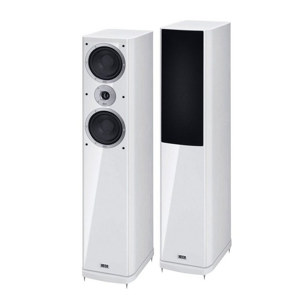 Heco Music Style 500, Standlautsprecher, 1 Paar in Weiß
