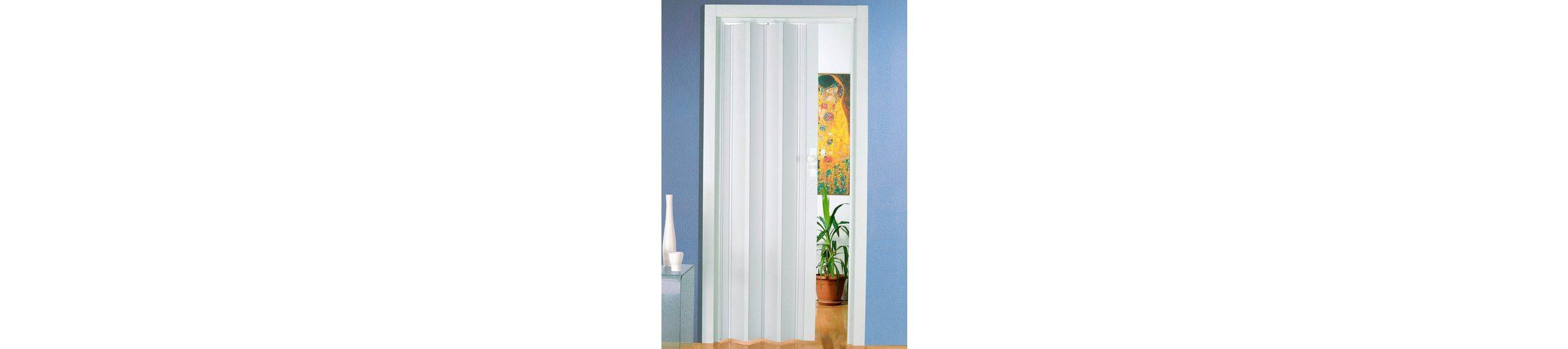 Türerweiterung für Falttür »Luciana« Höhe nach Maß, weiß (ohne Fenster)
