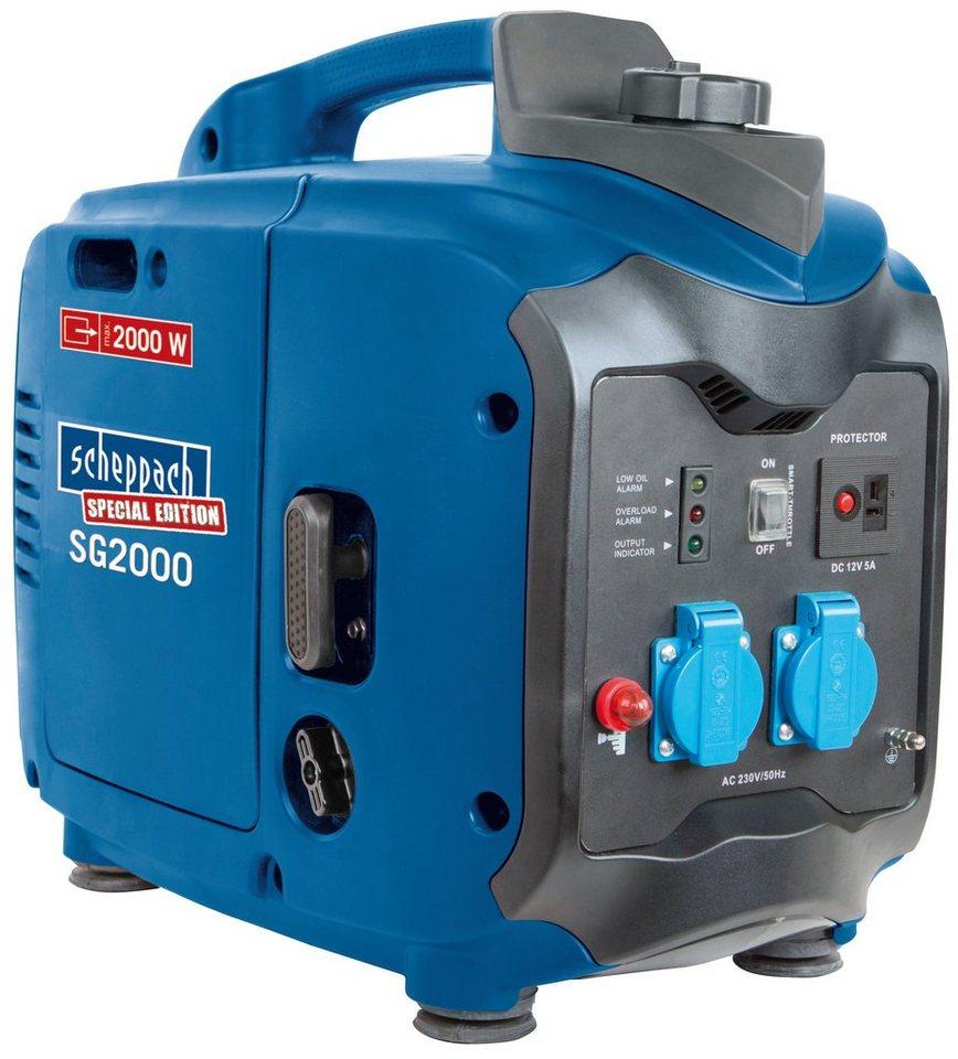 Stromerzeuger »SG2000« in blau