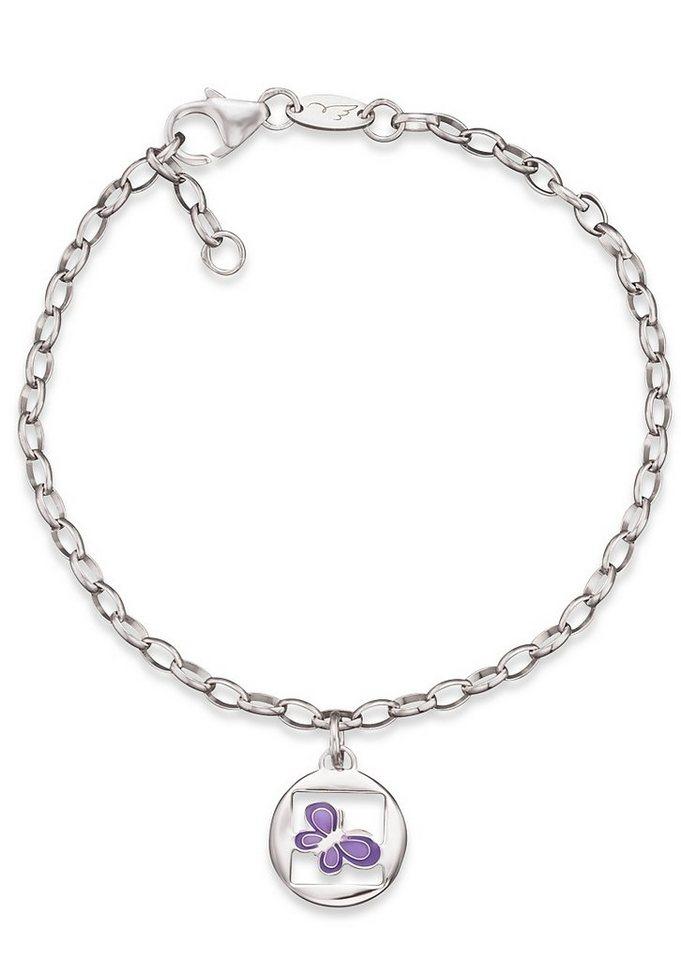 Herzengel Armband, »Schmetterling, HEB-06NATURE« in Silber 925/lila
