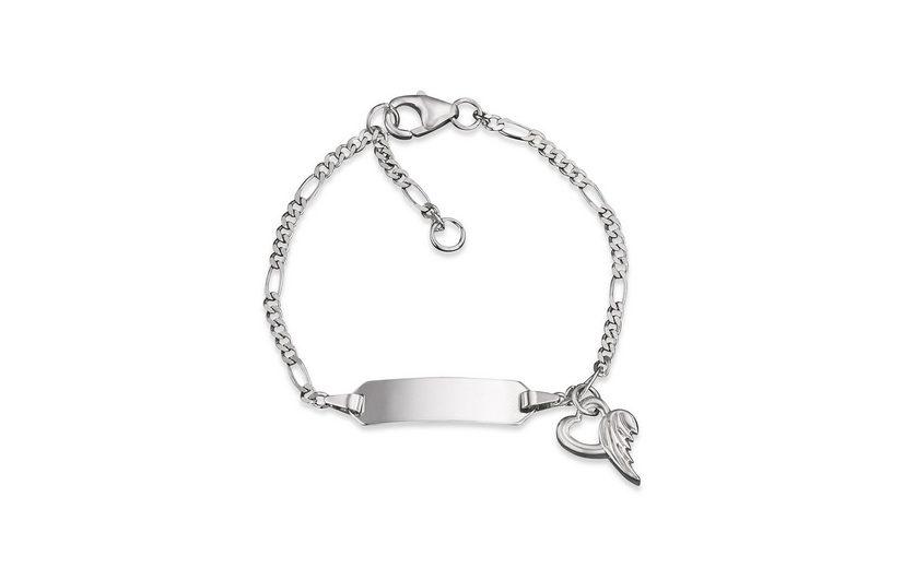 Herzengel Armband, »Herz mit Flügel, HEB-NAME-01H«