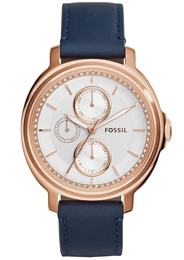 "Fossil, Multifunktionsuhr, ""CHELSEY, ES3832"" in blau"