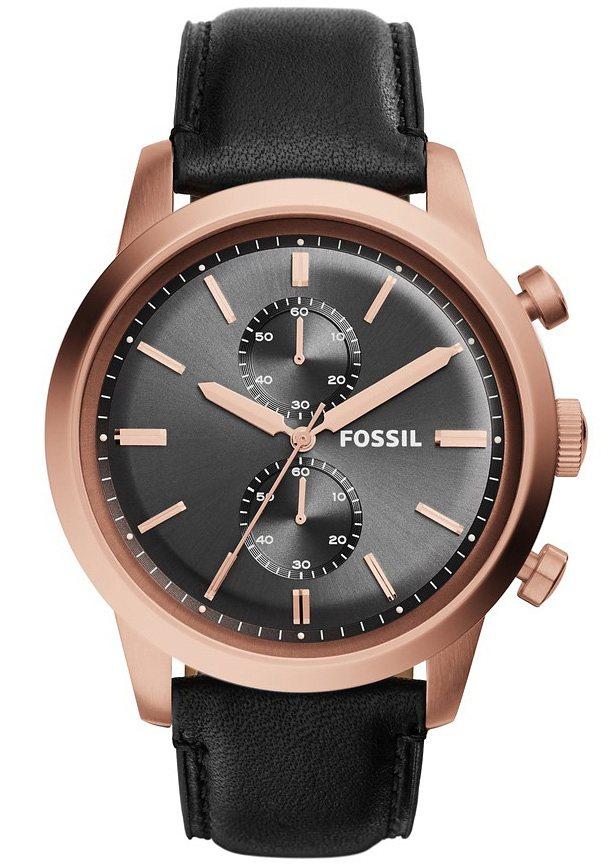 "Fossil, Chronograph, ""TOWNSMAN, FS5097"" in schwarz"