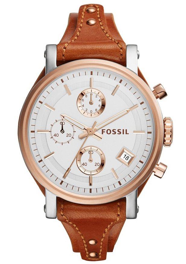 Fossil Chronograph »ORIGINAL BOYFRIEND, ES3837« in kastanie