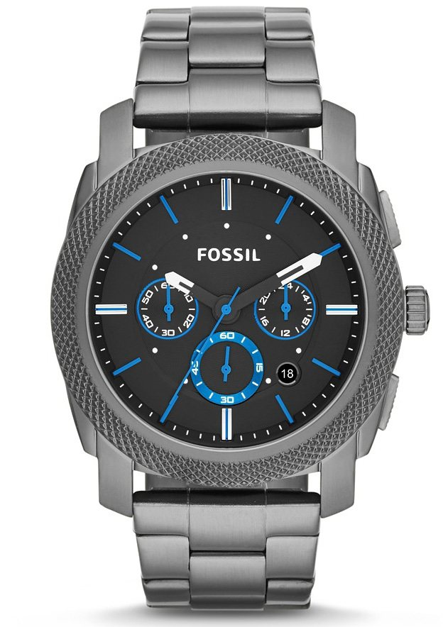 Fossil Chronograph »MACHINE, FS4931« in grau