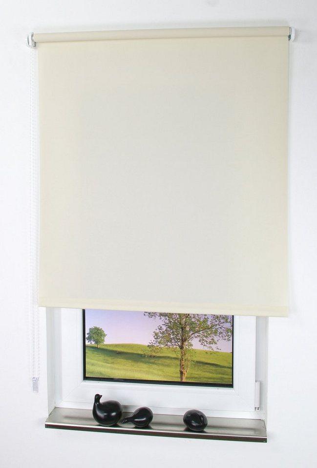 seitenzugrollo uni liedeco lichtschutz ohne bohren online kaufen otto. Black Bedroom Furniture Sets. Home Design Ideas