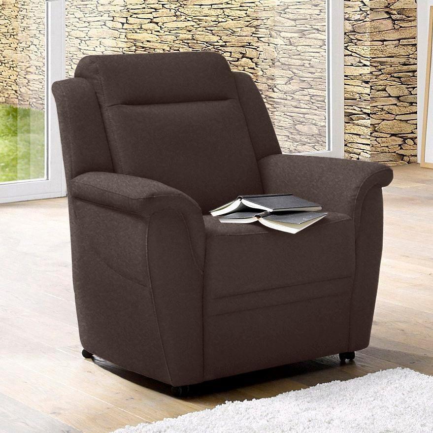 sit&more Sessel auf Rollen Inklusive komfortablem