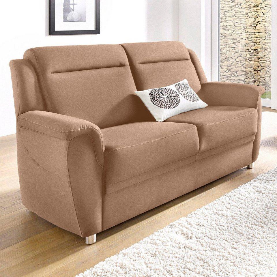Sit & More 2-Sitzer in braun