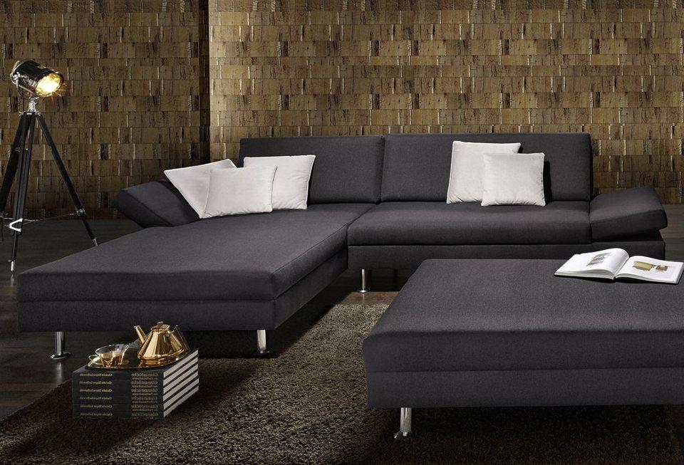 Wohnzimmer Couch Anthrazit