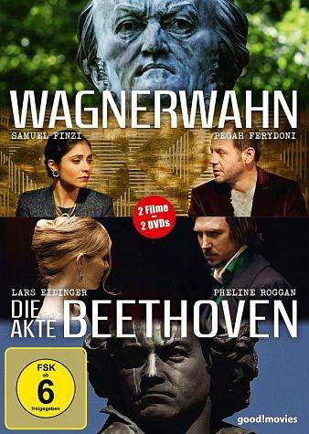 DVD »Wagnerwahn / Die Akte Beethoven (2 Discs)«