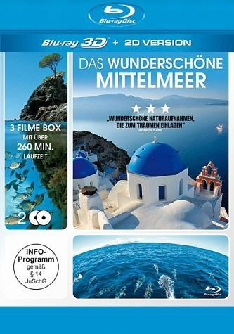 Blu-ray »Das wunderschöne Mittelmeer (Blu-ray 3D, 2 Discs)«
