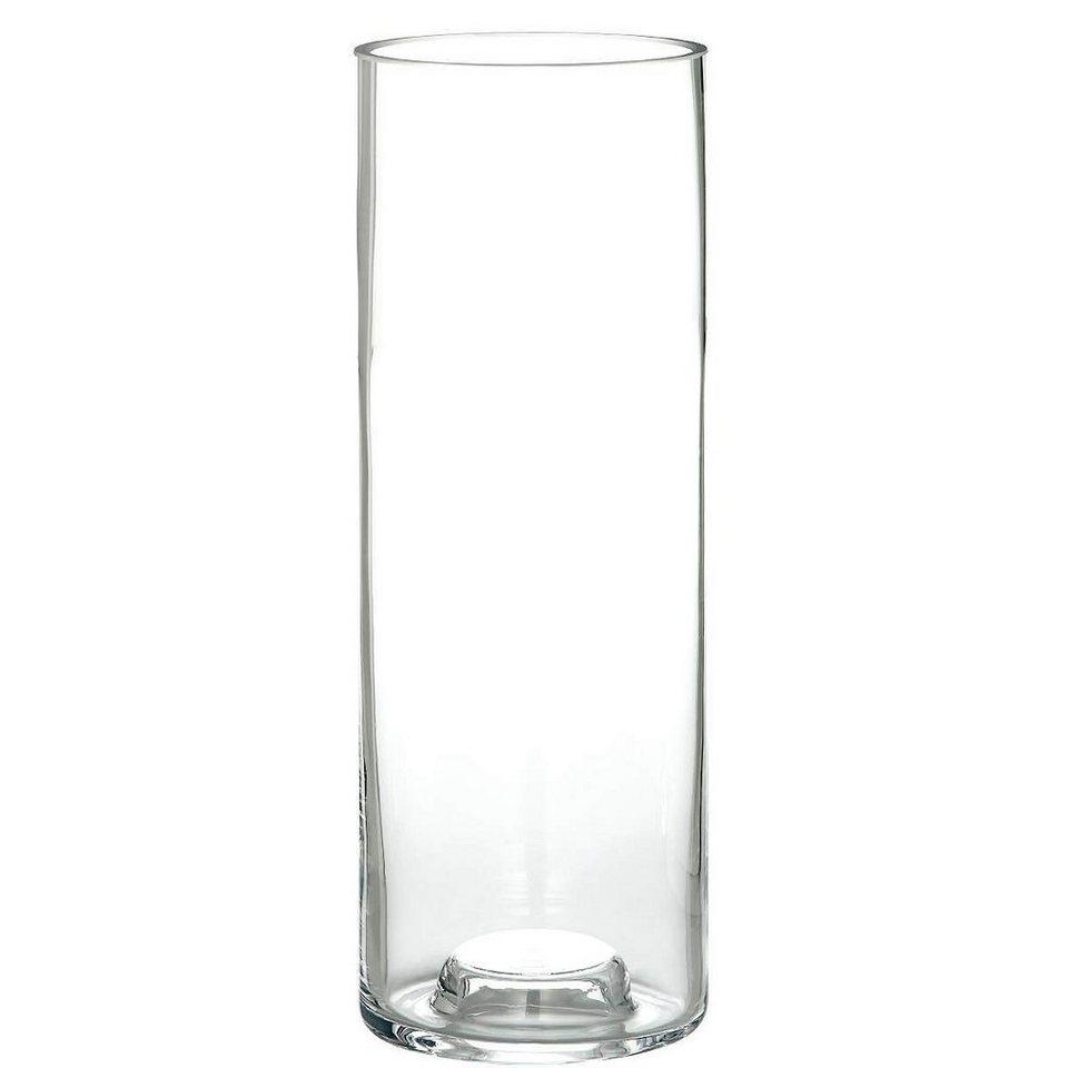 BUTLERS DUO »Teelichthalter/Vase« in transparent