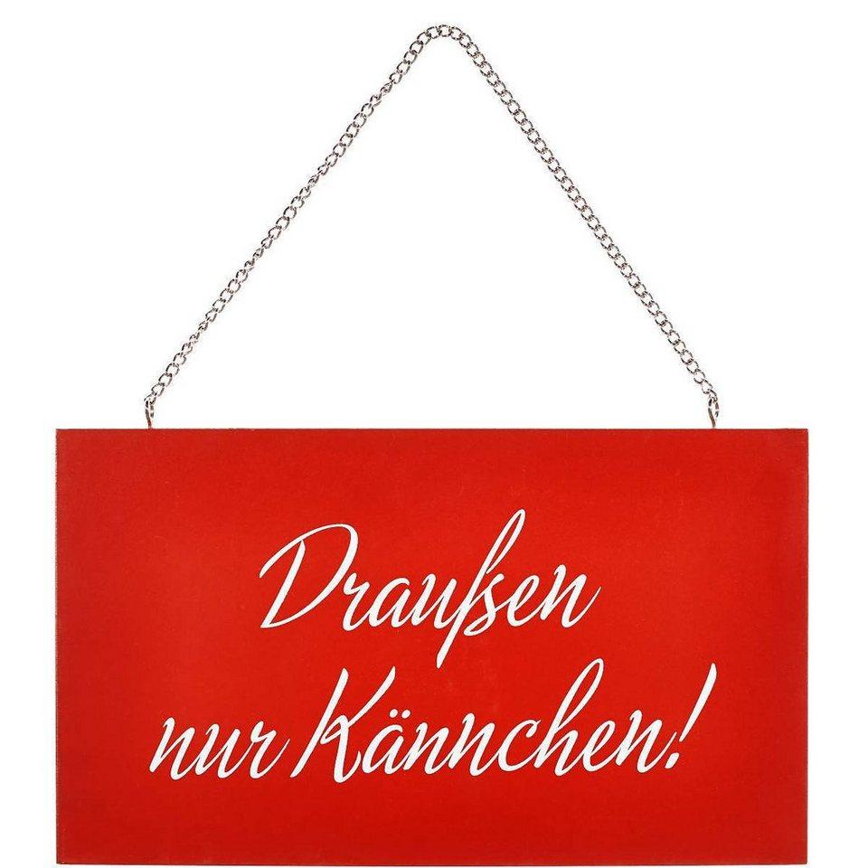 """BUTLERS STORYBOARD »""""Draußen nur Kännchen""""« in Rot"""