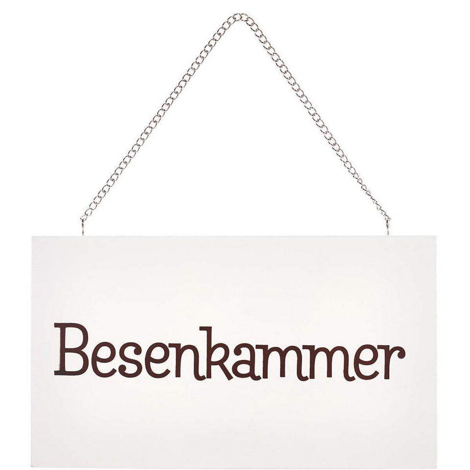 """BUTLERS STORYBOARD »""""Besenkammer""""« in Weiß"""